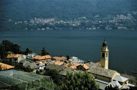 Comer See: Blick von Laglio nach Pognana Lario (2002)