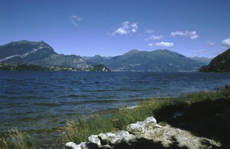 Comer See: Blick von Lierna nach Bellagio (2002)