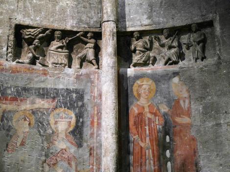 Trient: Dom - nördliche Seitenapsis [Martyrium des Johannes] (2017)