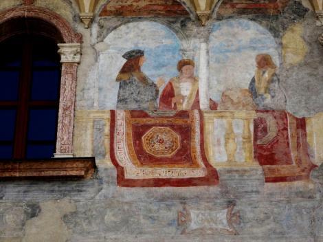 Trient: Palazzo Geremia [links Kaiser Maximilian I. (2017)