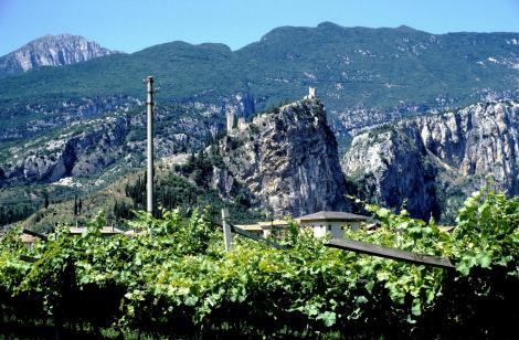 Arco: Blick zur Burg (1988)