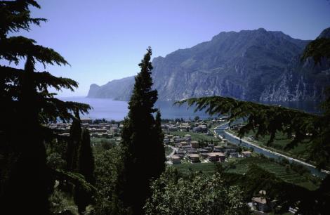 Torbole und das Nordende des Gardasees (1988)