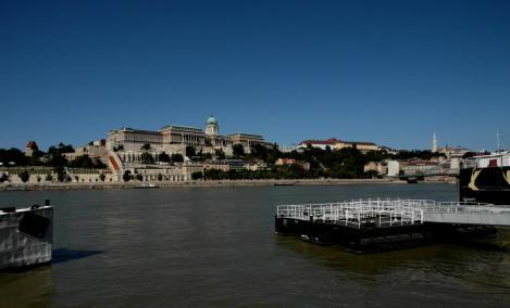 Budapest: Blick zum Budaer Burgberg (2014)