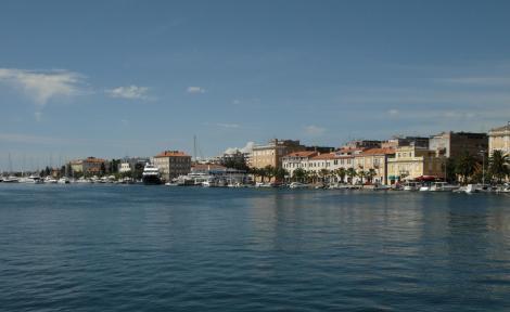 Zadar: Blick über den Hafen (2016)