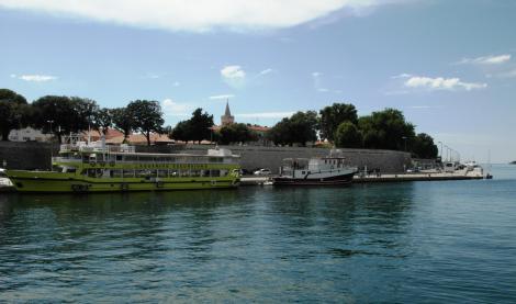Zadar: Blick zur Stadtmauer (2016)