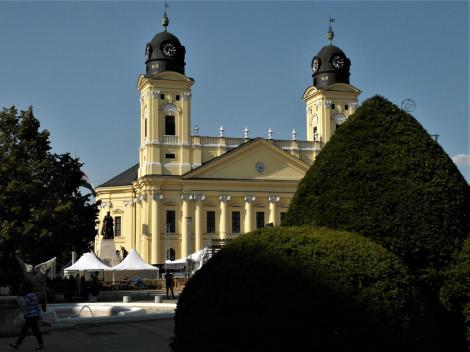 Debreczin (ung. Debrecen): Große calvinistische Kirche (2018)