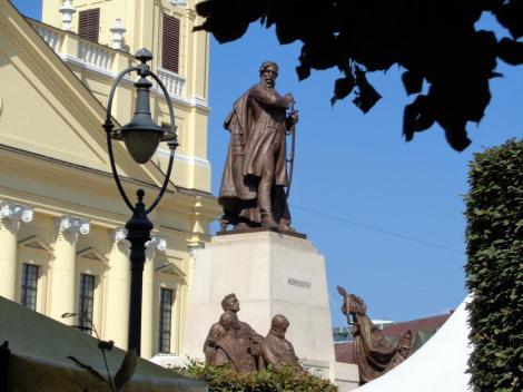 Debreczin (ung. Debrecen): Kossuth-Denkmal (2018)