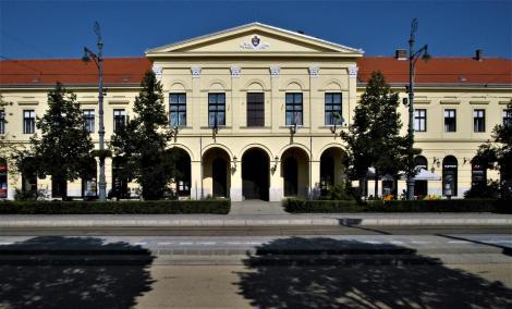 Debreczin (ung. Debrecen): Rathaus (2018)