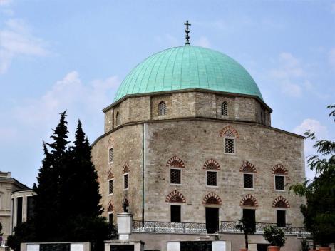 Fünfkirchen: Innerstädtische Pfarrkirche, ursprünglich Moschee (2015)
