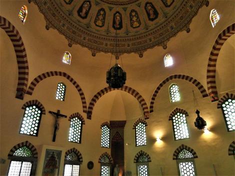 Fünfkirchen: Innerstädtische Pfarrkirche, ursprünglich Moschee (2008)
