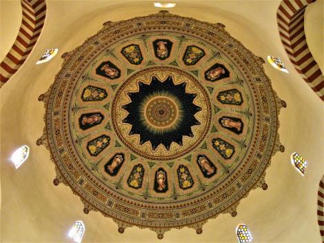 Fünfkirchen: Innerstädtische Pfarrkirche, ursprünglich Moschee - Kuppel (2008)
