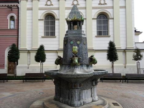 Fünfkirchen: Zsolnaybrunnen (2018)
