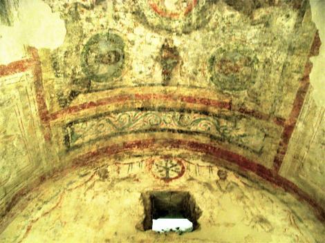 Fünfkirchen: Frühchristliches Friedhof - Fresken in der Peter und Paul-Grabkammer (2008)