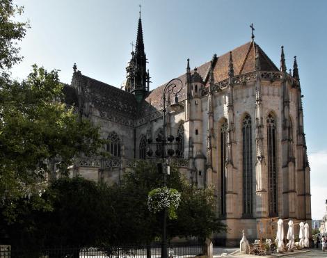 Kaschau: Elisabeth-Dom - Südostseite mit dem Chor (2018)