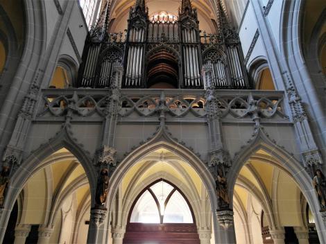 Kaschau: Elisabeth-Dom - Orgelempore (2018)