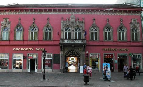 Kaschau: Vitez-Haus (2018)