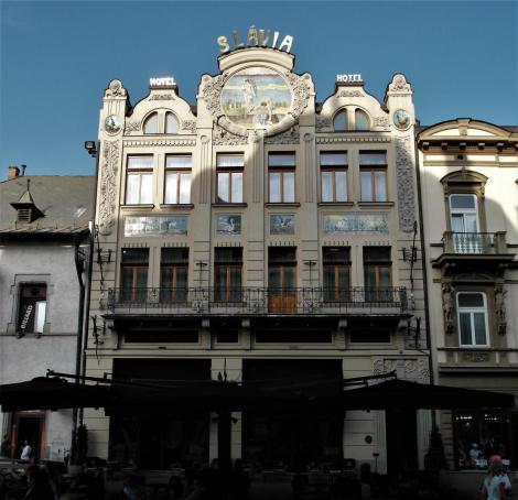 Kaschau: Hotel Slávia (2018)