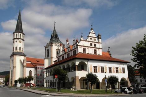 Leutschau: Jakobskirche und Rathaus (2018)