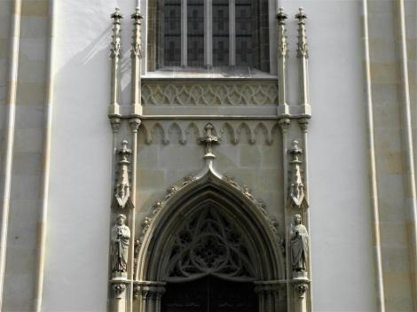 Leutschau: Jakobskirche - Portal (2018)