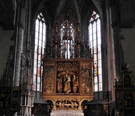 Leutschau: Jakobskirche - Jakobsaltar von Paul von Leutschau (2018)