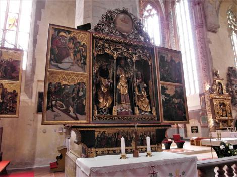 Leutschau: Jakobskirche - Nikolaus-Altar (2018)