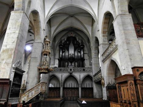 Leutschau: Jakobskirche - Blick zur Orgel (2018)