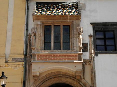 Pressburg: Altes Rathaus - Portal (2004)