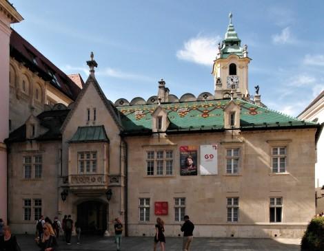 Pressburg: Altes Rathaus (2004)
