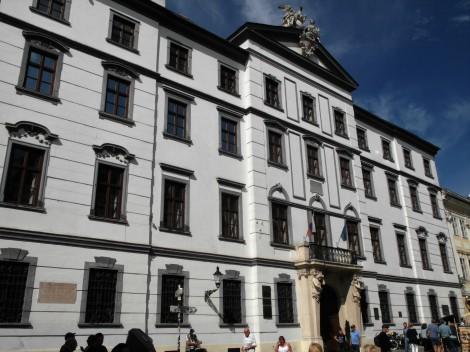 Pressburg: Palais der ungarischen Hofkammer (2018)