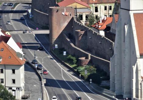 Pressburg: Stadtmauer beim Martinsdom (2018)