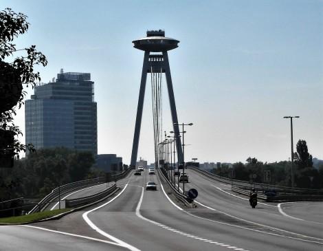 Pressburg: Neue Brücke (2018)