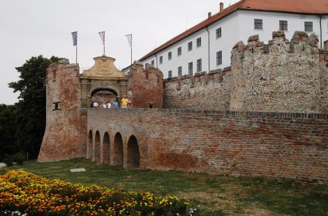 Siklós: Burg - Eingang (2015)