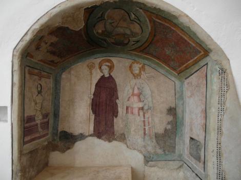 Siklós: Burgkapelle [rechts Hl. Ladislaus] (2015)