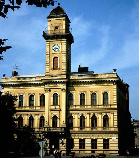 Komorn (slowak. Komárno): Rathaus (1980)