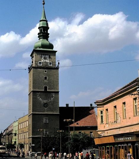 Tyrnau (slowak. Trnava): Rathausturm (1980)
