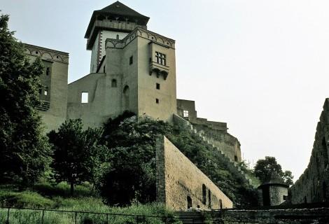 Trentschin (slowak. Trenčin): Burg (1980)