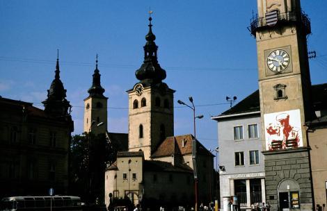 Neusohl [slowak. Banská Bystrica]: Stadtburg (1980)