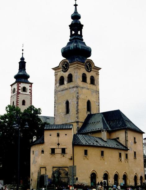 Neusohl [slowak. Banská Bystrica]: Stadtturm (2004)