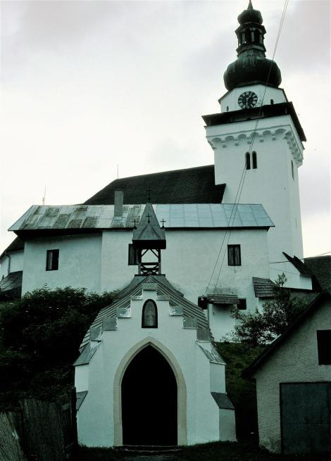 Dilln [slowak. Banská Belá]: Katholische Kirche (2004)