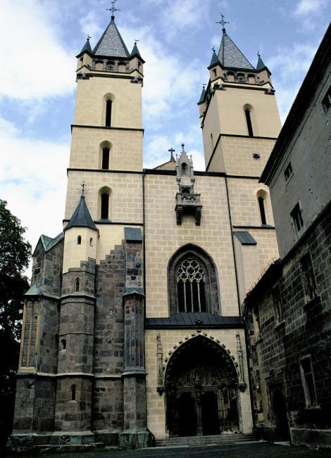 St. Benedikt [slowak. Hronský Beňadik]: Klosterkirche (2004)