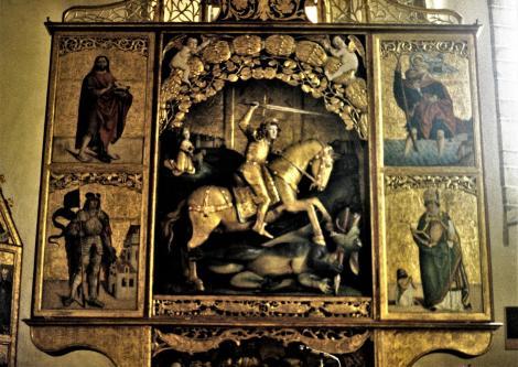 Georgenberg [slowak. Spišská Sobota]: Georgskirche - Georgsaltar (2004)