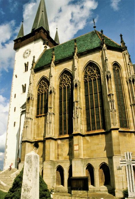 Donnersmark [slowak. Spišský Štvrtok]: Ladislauskirche mit Zapolya-Grabkapelle (2004)