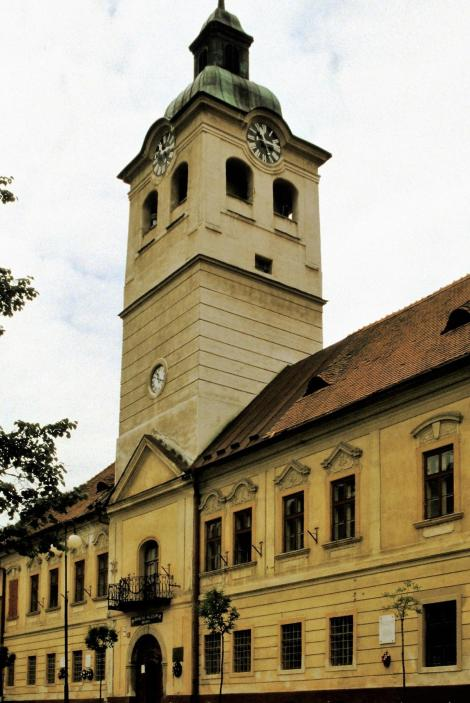 Göllnitz [slowak. Gelnica]: Rathaus = Bergbaumuseum (2004)
