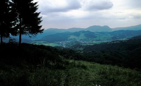 Landschaft nördlich Dobschau [slowak. Dobšiná] (2004)