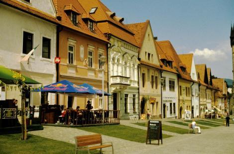 Bartfeld [slowak. Bardejov]: Marktplatz (2004)