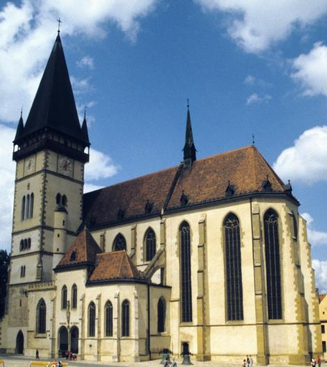 Bartfeld [slowak. Bardejov]: Ägidiuskirche (2004)