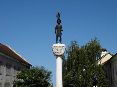 Tokaj: Stephan-Statue (2018)