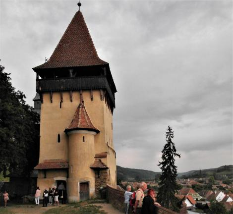 Birthälm: Kirchenburg - Mausoleumsturm (2018)