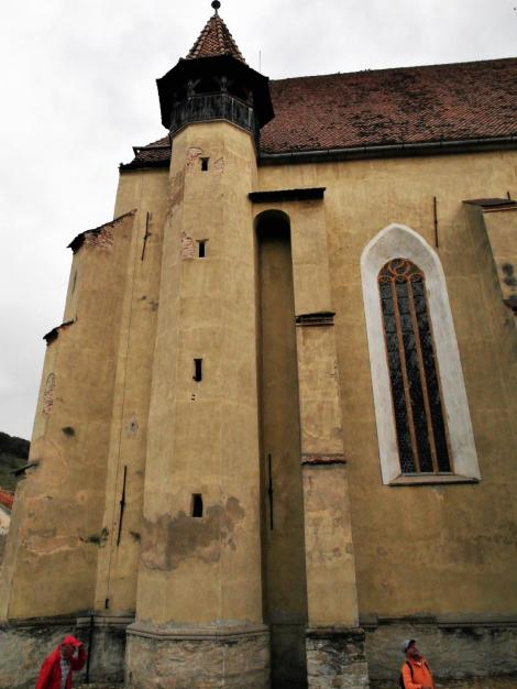 Birthälm: Kirchenburg - Kirche (2018)