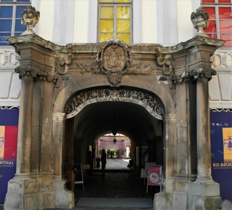 Hermannstadt: Brukenthal-Palais - Portal (2018)